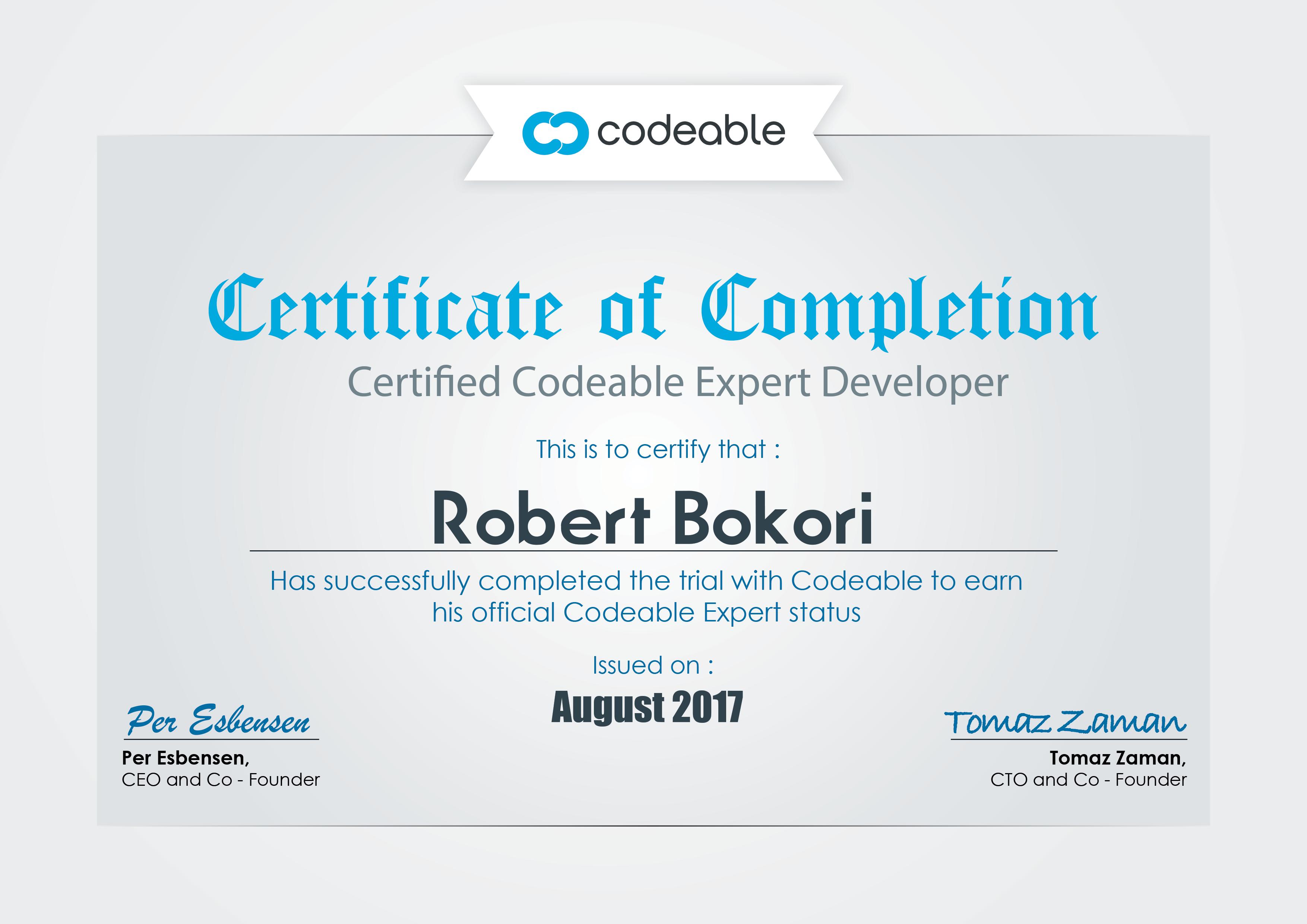 Digree Certificate